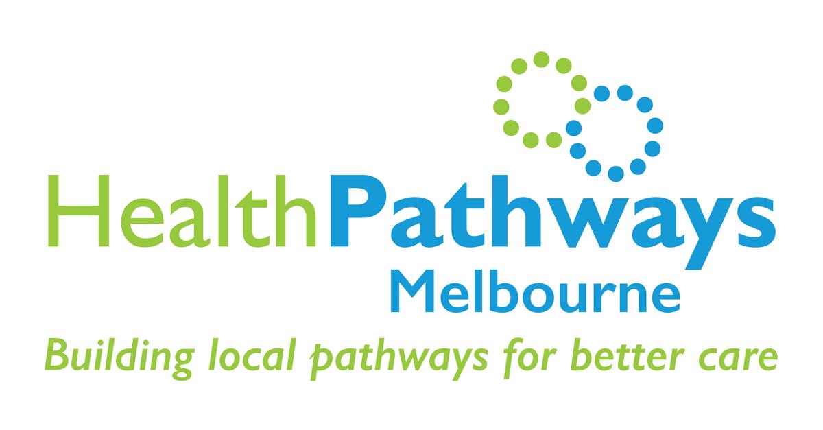 HealthPathways Melbourne logo