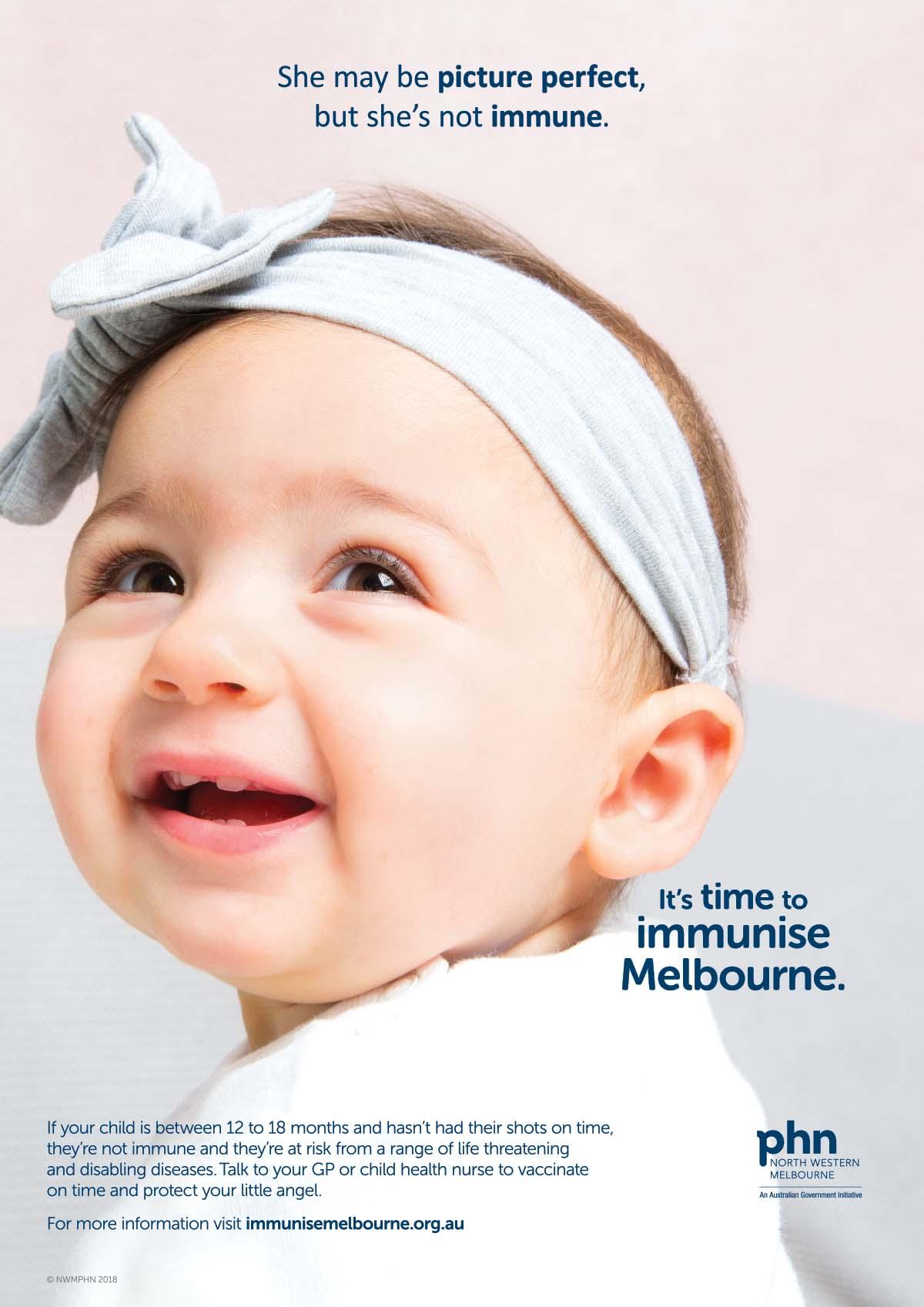 Immunise Melbourne Poster
