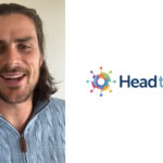 Former AFL footballer Tom Boyd and the HeadtoHelp logo.
